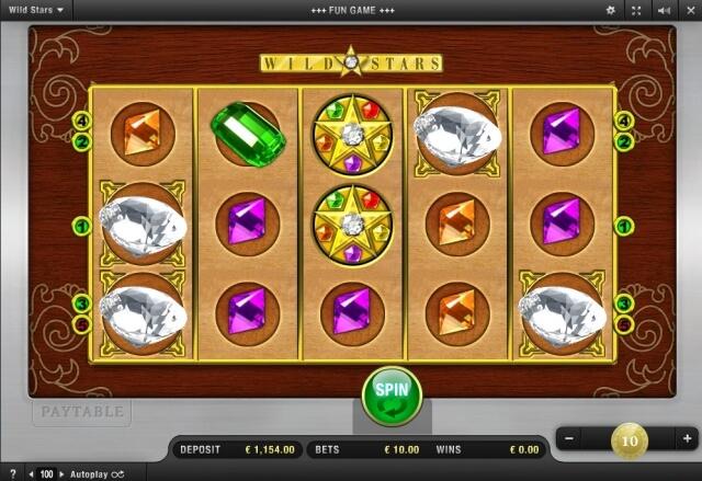 Wild Stars Spiel Screenshot